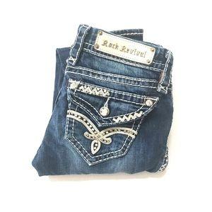 Rock Revival Skinny Women's Denim Jeans Size W25
